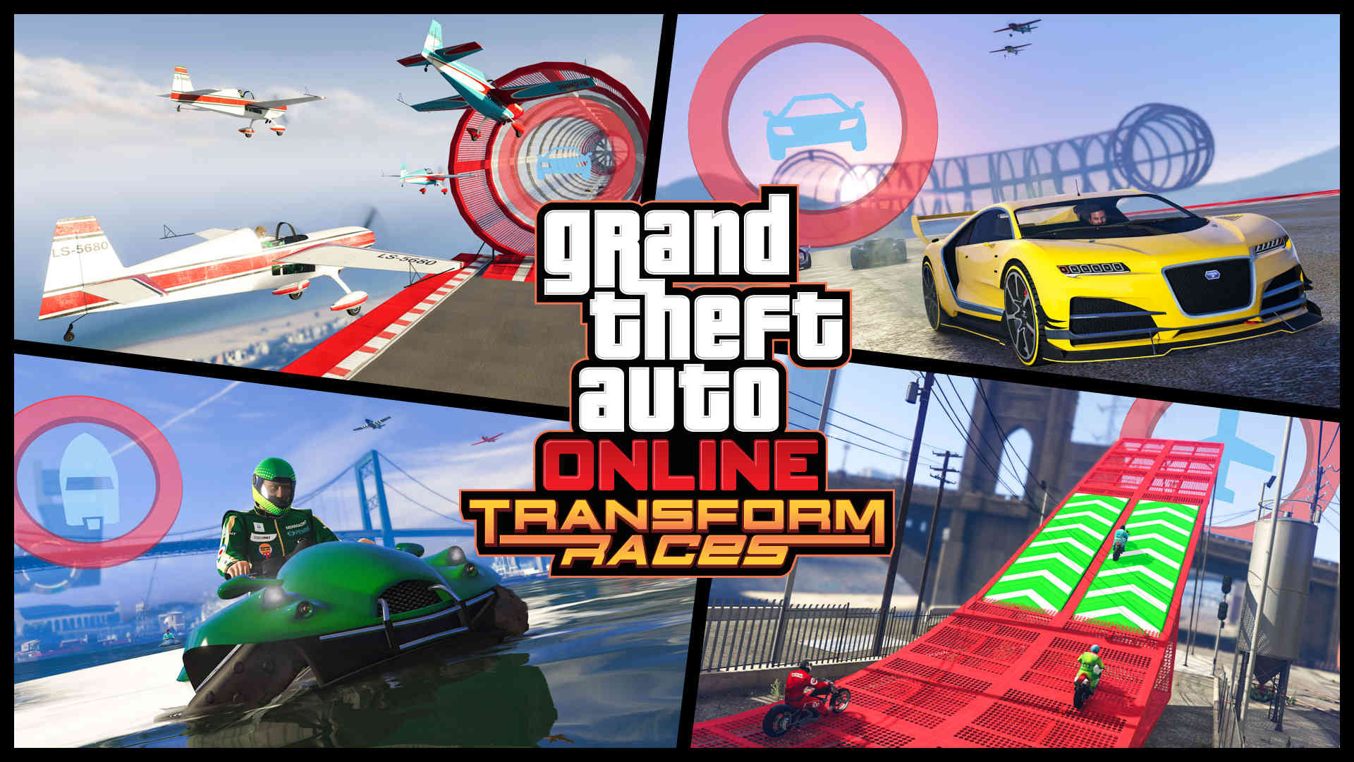 Transforming vehicle races coming to GTA Online