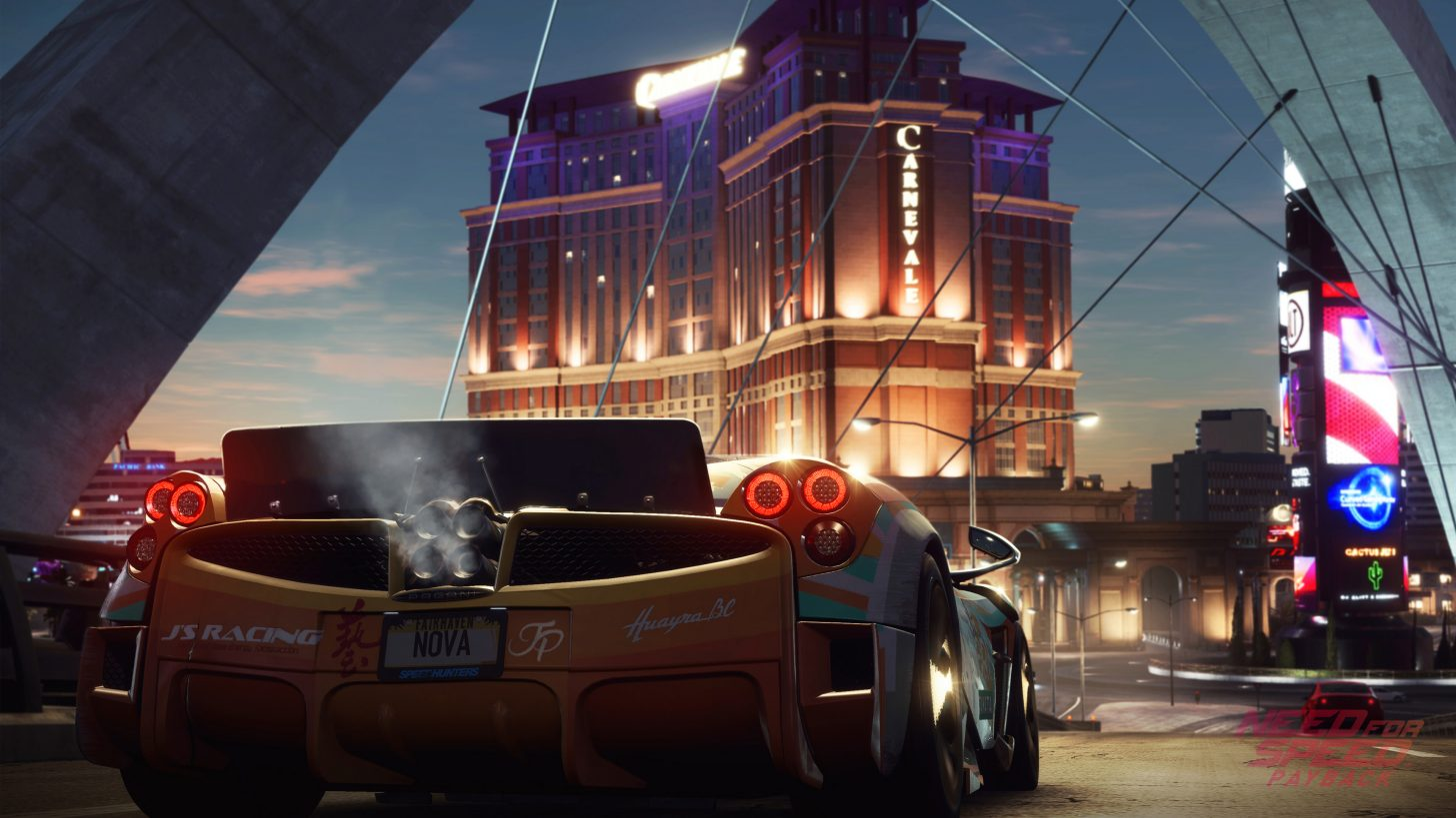 Full Need for Speed Payback Car List & Prices Unveiled