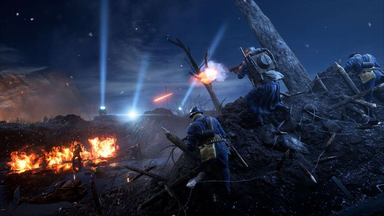 Battlefield 1 Nivelle Nights Map Coming To All Players