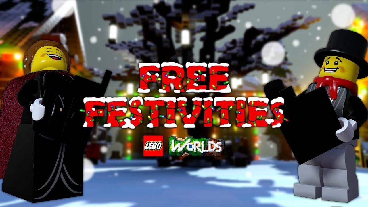 Free Christmas Theme DLC For Lego Worlds