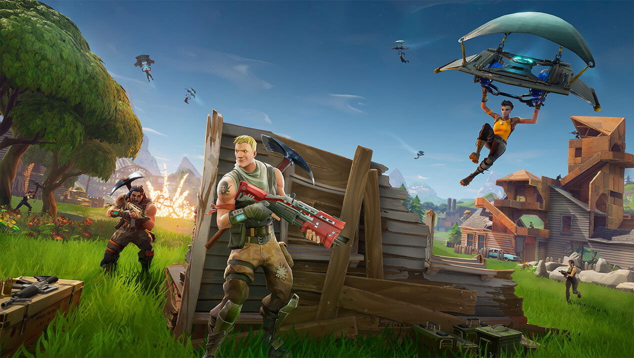 Fortnite Update Brings Campires & Bug Fixes