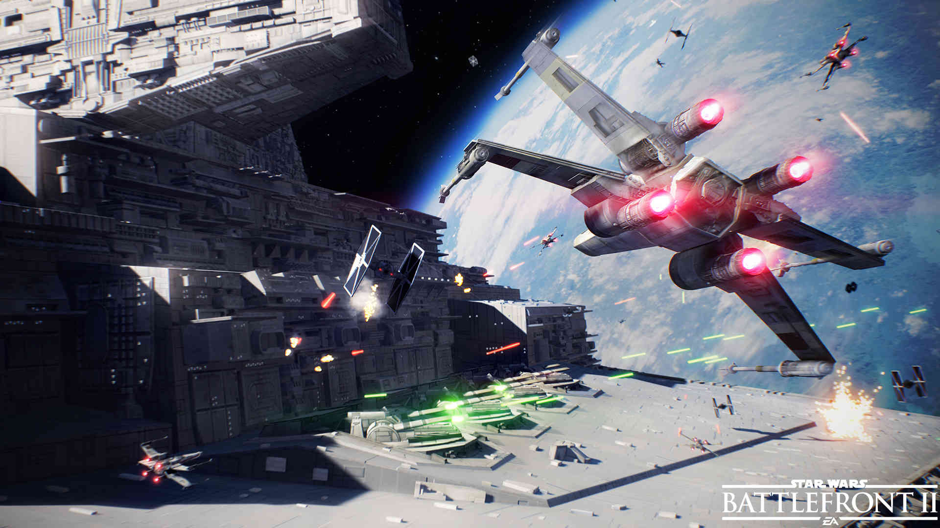 Battlefront 2 Update Brings New Ship, Maps & Fixes