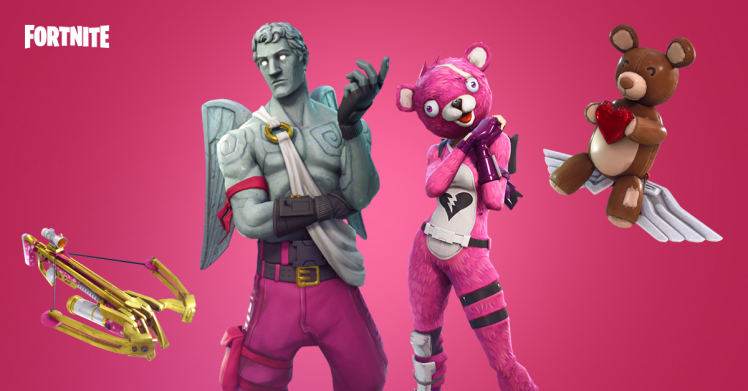 Valentines Update Announced For Fortnite Battle Royale
